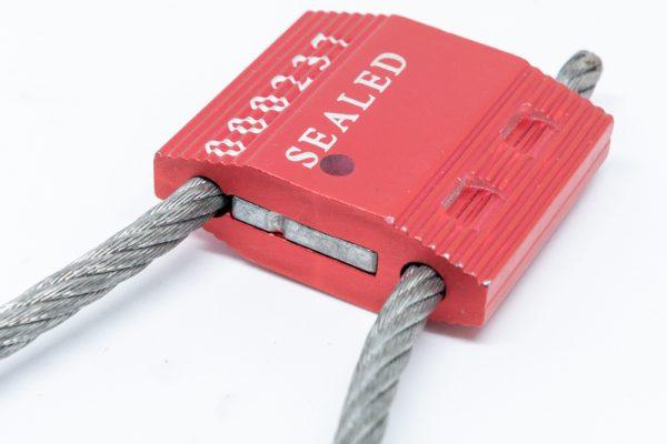 Sigilli a strozzo con cavo metallico – dettaglio