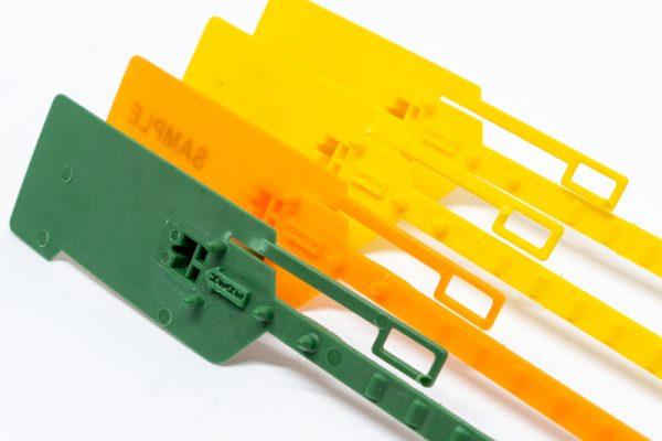 Sigillo a strozzo  in plastica